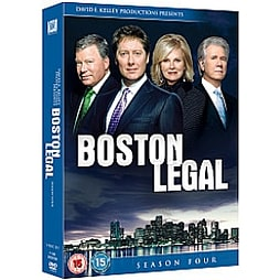 Boston Legal - Complete Series 4 DVD
