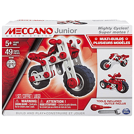 Meccano Junior Mighty Cycles Blocks and Bricks
