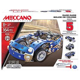Meccano Race Car 5 Models Set Blocks and Bricks