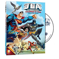 Justice League Adventures Trapped in Time DVD