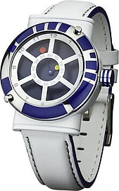 Licensed Collectors Edition Star Wars 'R2D2' Men's Quartz Analogue Wrist Watch - White/Blue Gifts