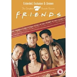 Friends Season 7 - Extended Edition DVD DVD