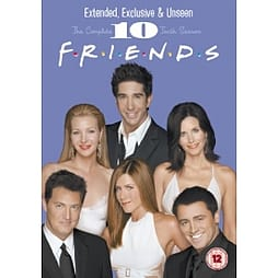 Friends Season 10 Extended Edition DVD DVD