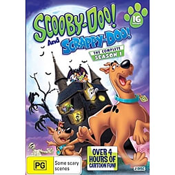 Scooby Doo and Scrappy Doo Complete Season 1 DVD DVD
