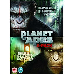 Dawn of the Planet of the Apes / Rise of the Planet of the Apes Double Pack DVD