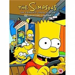The Simpsons - The Complete Tenth Season Collector's Edition DVD DVD