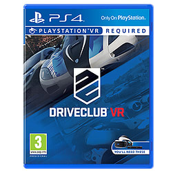 DriveClub VR (Disc Copy) PS4 Cover Art