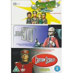 Joe 90/Captain Scarlet/Stingray DVD DVD