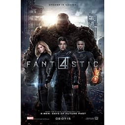 The Fantastic Four (2015) DVD DVD