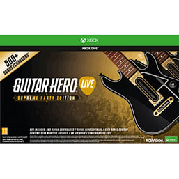 Guitar Hero Live - Supreme Party Edition XBOX ONE Cover Art