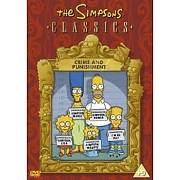 The Simpsons: Crime And Punishment DVD DVD