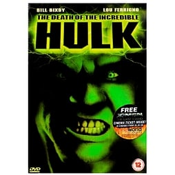 The Death Of The Incredible Hulk DVD DVD