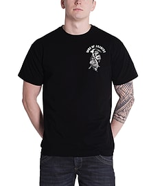 Sons Of Anarchy T Shirt American Reaper new Official Mens BlackSize: S Clothing