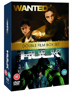 Wanted / The Incredible Hulk Double Pack DVD DVD