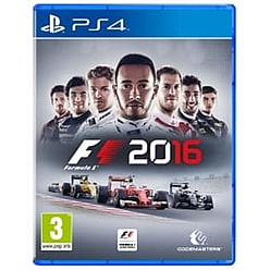 F1 2016 PS4 Game PS4 Cover Art