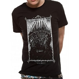 Game Of Thrones Win Or Die T-Shirt Small - Black Clothing
