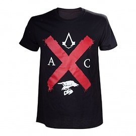 Assassin's Creed Syndicate Rooks Red Cross Edition Medium T-Shirt Clothing