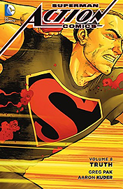 Superman Action Comics: Volume 8: Truth Hardcover Books