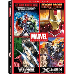Marvel Anime Collection DVD DVD