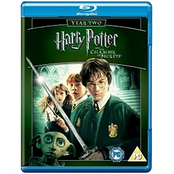 Harry Potter and The Chamber of Secrets Blu-Ray Blu-ray