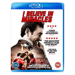 Brian Clough: I Believe in Miracles Blu-ray Blu-ray