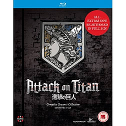Attack On Titan: Complete Season One Collection Blu-ray Blu-ray