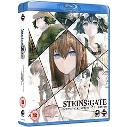 Steins Gate The Complete Series Blu-ray Blu-ray