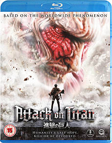 Attack on Titan The Movie Part 1 - Blu-ray Blu-ray