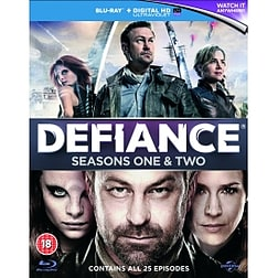 Defiance Seasons 1-2 Blu-ray & UV Copy Blu-ray