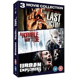 Serial Killer Triple Pack Urban Explorers / A Horrible Way to Die / The Last Victim Blu-ray