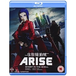 Ghost In The Shell Arise: Borders Parts 1 And 2 Blu-ray Blu-ray