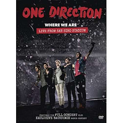 One Direction Where We Are DVD Blu-ray