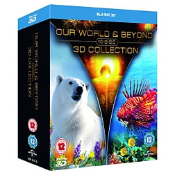 Our World & Beyond 3D Collection Blu-ray Blu-ray