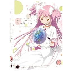 Puella Magi Madoka Magica The Movie: Part 1 and Part 2 - Beginnings/Eternal Blu-ray Blu-ray