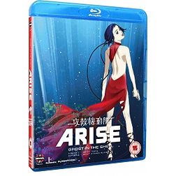 Ghost In The Shell Arise: Borders Parts 3 And 4 Blu-ray Blu-ray