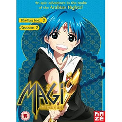 Magi - The Kingdom Of Magic: Season 2 - Part 2 Blu-ray Blu-ray