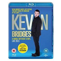 Kevin Bridges Live: A Whole Different Story Blu-ray Blu-ray