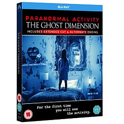 Paranormal Activity: The Ghost Dimension Blu-ray Blu-ray