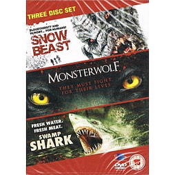 Snow Beast / Monsterwolf / Swamp Shark DVD DVD