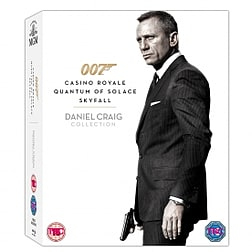 Daniel Craig 007 Triple Pack Casino Royale / Quantum of Solace / Skyfall Blu-ray Blu-ray