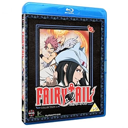 Fairy Tail Part 6 Episodes 61-72 Blu-ray Blu-ray