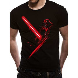 Star Wars Vader Shadow T-Shirt Large Clothing