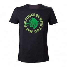 Star Wars Yoda....'May The Force Be With You' XX-Large T-Shirt Clothing