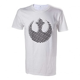Star Wars Rebel Logo Small White T-Shirt Clothing