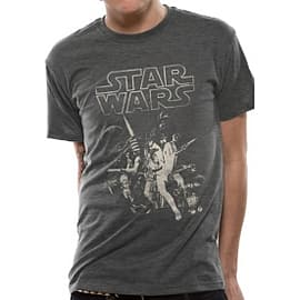 Star Wars A New Hope One Sheet T-Shirt Small Clothing