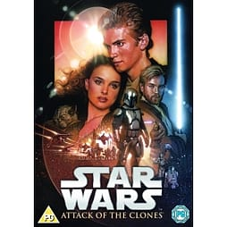 Star Wars: Attack Of The Clones DVD DVD