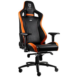 noblechairs EPIC Gaming Chair - PENTA Sports Edition - Black/Orange Multi Format and Universal