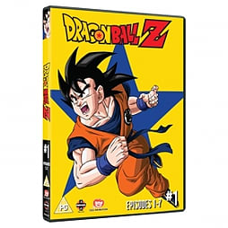 Dragon Ball Z Season 1 Part 1 Episodes 1-7 DVD DVD