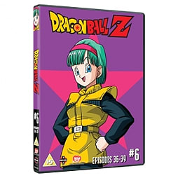Dragon Ball Z Season 1 Part 6 Episodes 36-39 DVD DVD