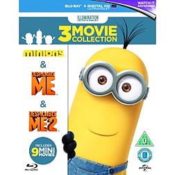 Minions Collection (Despicable Me/Despicable Me 2/Minions) Blu-ray Blu-ray